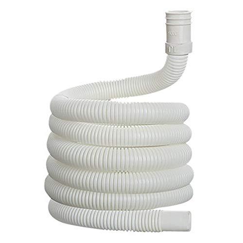 YPASDJH Aire Acondicionado plástico Drenaje Manguera Universal Lavadora de Agua extensión extensión Tubo Tubo de Tubos de Cocina Accesorios de Grifo para lavavajillas, Lavadora (Color : White)