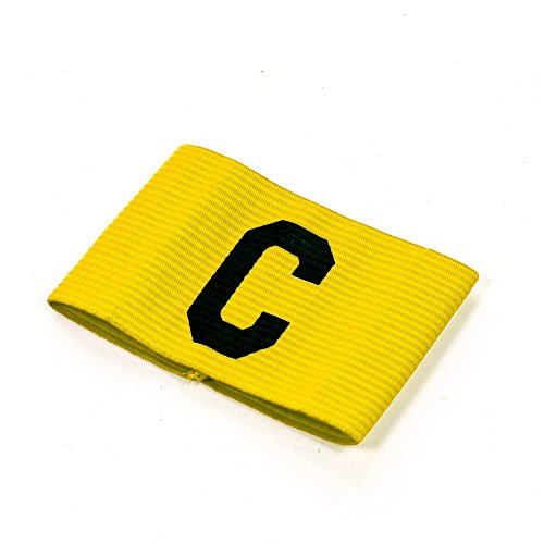 Precision Training Unisex, Jugendliche Precision Big C Captains Armband, gelb, Für Kinder