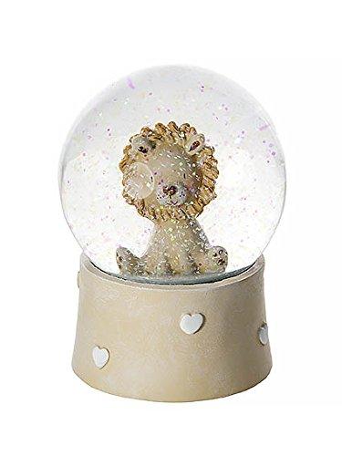 Löwen Schneekugel Spieluhr für Kinder Baby Jungen und Mädchen Geschenk