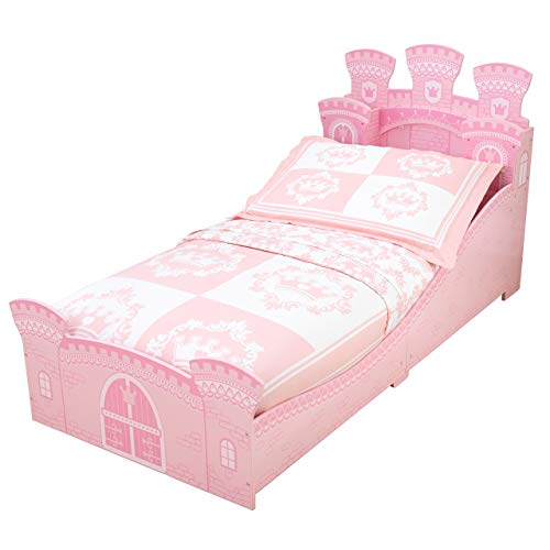 KidKraft 76278 Cama infantil niña estilo Castillo de princesa de madera