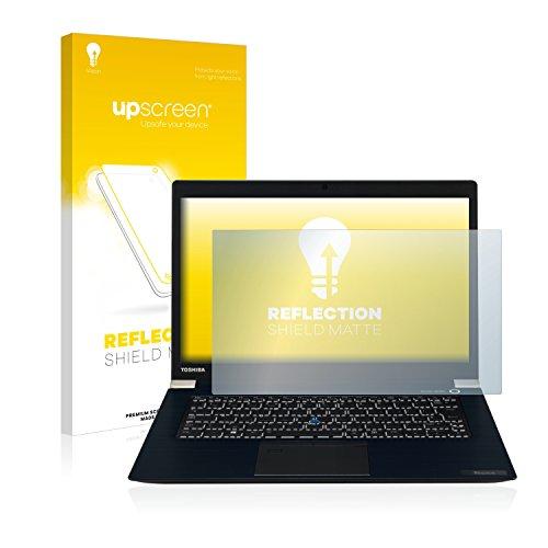 upscreen Entspiegelungs-Schutzfolie kompatibel mit Toshiba Tecra X40-D – Anti-Reflex Bildschirmschutz-Folie Matt