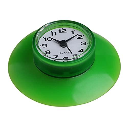SIRENK Reloj Impermeable Succión Reloj Cocina Baño Bañera Bañera Reloj de Ducha...