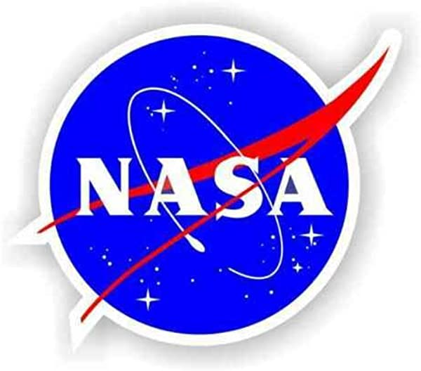 CA POWER 24 Inch Big NASA Vinyl Decal Sticker Multi Color Space Shuttle Program