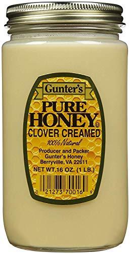 Gunter's Clover Creamed Honey - 16 Oz