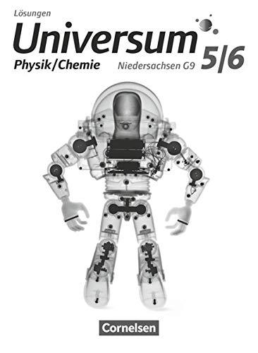 Universum Physik - Sekundarstufe I - Niedersachsen G9 - 5./6. Schuljahr - Physik/Chemie: Lösungen zum Schülerbuch