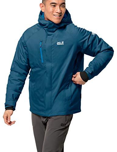 Jack Wolfskin Herren TROPOSPHERE Jacket M Wetterschutzjacke, Dark Cobalt, S