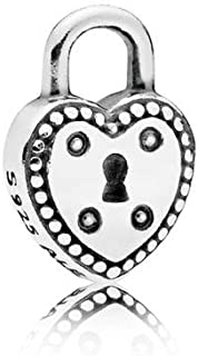 PANDORA Love Lock Petite Locket Insert, 796596