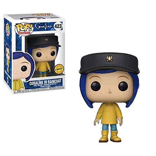 Coraline Funko Pop! Peliculas en Raincoat Pop! Figura de Vinilo Chase Variant