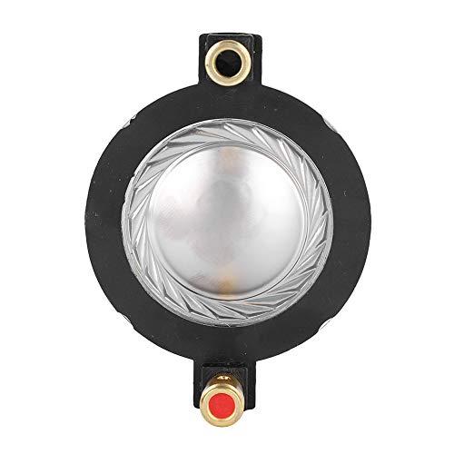 Bobina de voz general de película de titanio de 34,4 mm, bobina de voz de tweeter de sonido claro, bricolaje para sistema de cine en casa Unidad de altavoz Audio con bloque de terminales
