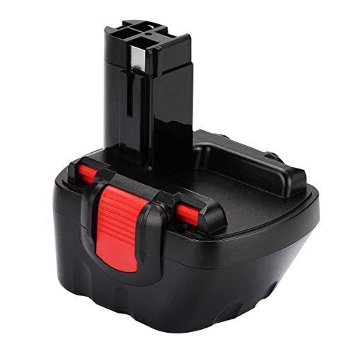 Creabest 3.0Ah Ni-MH Batería de repuesto para Bosch 12V BAT043 BAT045 BAT120 BAT139 2607335542 2607335526 2607335274 2607335709 para Bosch GSR 12-2 12VE-2 PSR 12 GSB 12VE-2 22612 23612 32612