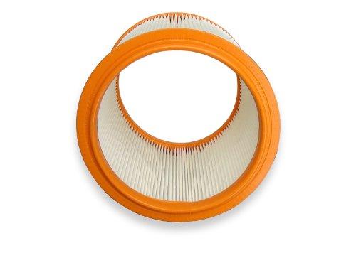 waschbarer Filter für Nilfisk Aero 20-01 20-21 25-11 25-21 waschbar Sauger Faltenfilter Rundfilter Kallefornia K704