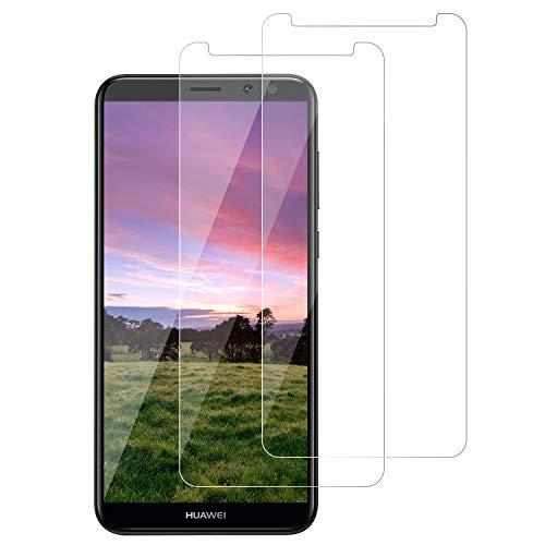 DOSNTO Pellicola Protettiva in Vetro Temperato per Huawei Mate 10 Lite, Protezione Schermo Trasparente Ultra Resistente, [2 Pezzi] Anti-Olio, Graffi e Impronte digitali Pellicola Protettiva