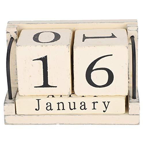 WNSC Calendarios, Calendario De Madera, Oficina para Sala De Estar, Dormitorio, Sala De Estudio