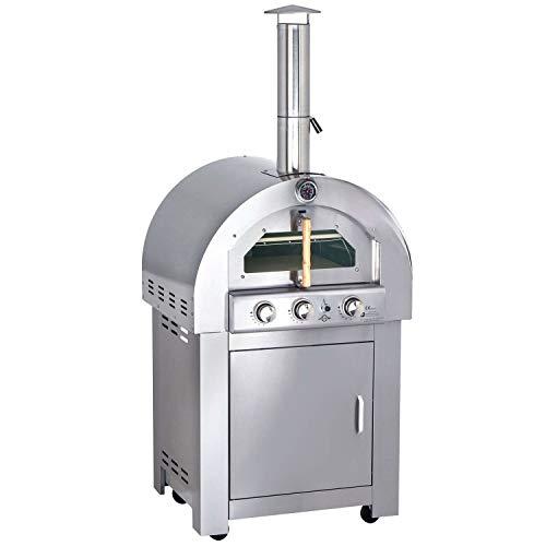 Allgrill Gas Pizzaofen mit AIR-System und Zubehör
