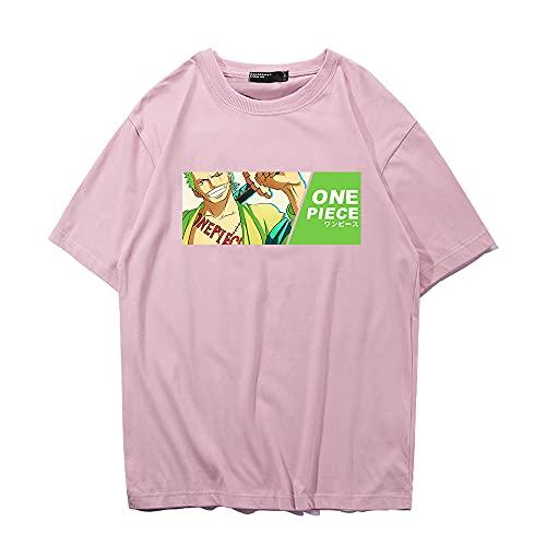 SHIQI-DYMX One Piece Camiseta De Hombre Manga Corta Geometría Impresa Camiseta De Hombre O-Cuello Camiseta Suelta Fresca,XXXL