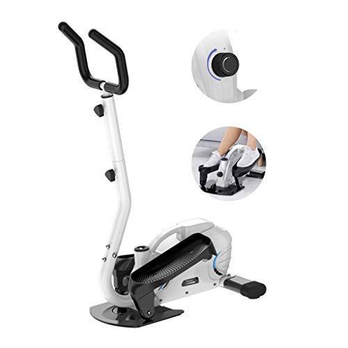 Stepping Machine Mini Elliptische Loopband Ruimte Walker Home Fitnessapparatuur Kleine Indoor Gewichtsverlies Mute (Color : White, Size : 67 * 43 * 130cm)