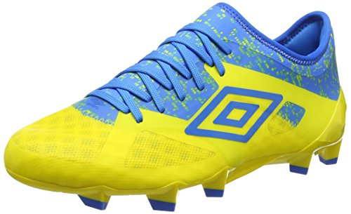 UMBRO Herren Velocita Iii Pro Hg Fußballschuhe, Gelb (Blazing Yellow/Electric Blue), 40 EU