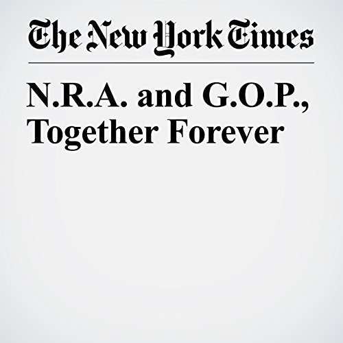N.R.A. and G.O.P., Together Forever copertina