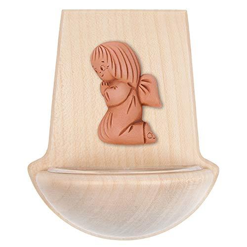 FRITZ COX® - Holz-Weihkessel mit Ton-Engel