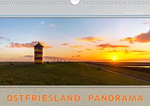 Ostfriesland-Panorama (Wandkalender 2020 DIN A4 quer): Entdecken sie die endlose Weite und das flache Land (Monatskalender, 14 Seiten ) (CALVENDO Natur)