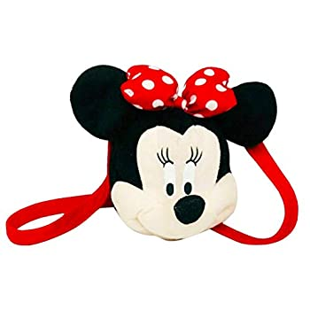 Disney Minnie Mouse Girls Long strap Plush HandBag