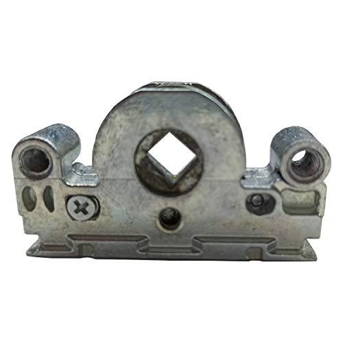 MACO Schneckengetriebe Schnecke Ersatzteil Getriebeschloß schraubbar Ersatzteil mit Balkontüre Reperatur Getriebeschloss für Serie HauSun Upgrade