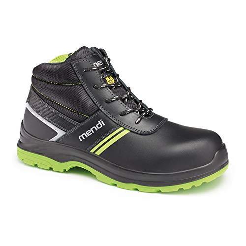 Botas de Seguridad para Hombre y Mujer Impermeables con Resistencia electrica/Calzado Botas de Seguridad Robusta cómodas, Ligeras Antideslizantes con Puntera Reforzada de Fibra de Vidrio (Numeric_45)