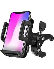 自転車ホルダー Chamsaler スマホホルダー 自転車 360度回転 脱着簡単 オートバイ バイク バーマウント 角度調整 ホルダー スマホ スマートフォン 携帯 マウント iPhone Andriod 多機種対応 Youtube カメラ撮影 生放送