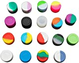 Gentcy Silicone 3ML 100pcs Lots Silicone Container Silicone Jars For Concentrate Oil Box