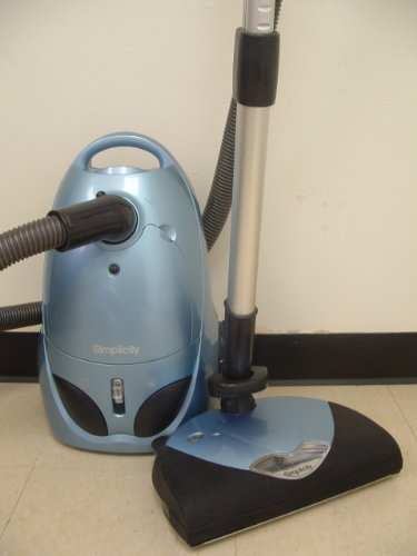 Buy Bargain INCREDIBLE SIMPLICITY S24 CANISTER VACUUM W/TOP POWER NOZZLE & ALL ACCESSORIES!
