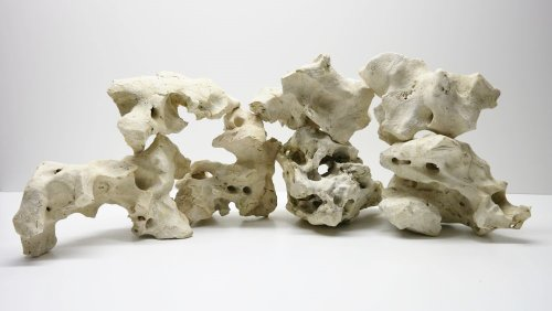 25 Kg Asiatisches Lochgestein Größe XL 5-8 Stück 15-40cm Naturstein Dekoration