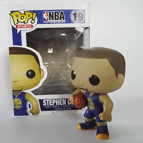 Good Buy Funko Pop Sports : NBA - Blue Stephen Curry Vinyl 3.75inch for Basketball Fans Figure