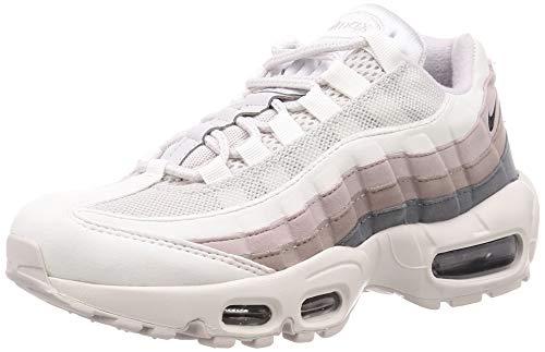 Nike WMNS Air Max 95, Chaussures d'Athlétisme Femme, Multicolore (Vast Grey/Oil Grey/Summit White 000), 39 EU