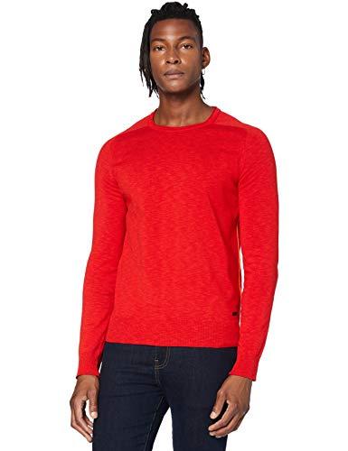 BOSS Herren Kabiro Pullover, Orange (Dark Orange 805), X-Large (Herstellergröße: XL)
