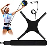 Volleyball Training Equipment Aid, Soccer Solo Practice Trainer for Serving, Arm Swings, Setting and Spiking,...