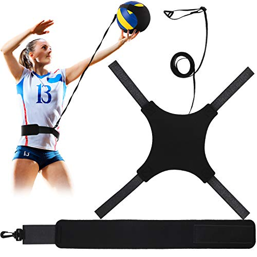 Volleyball Training Geräte Hilfe, Fußball Solo Training Trainer zum Servieren, Arm Schwingen, Setzen und Spiken, Solo Aufschlag und Spike Trainer für Anfänger und Volleyballspieler