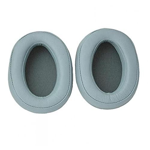 Earpads de reemplazo Compatible con Sony MDR 100ABN WH-H900N Auriculares Cojín piezas de reparación de oído auriculares verde 1 par