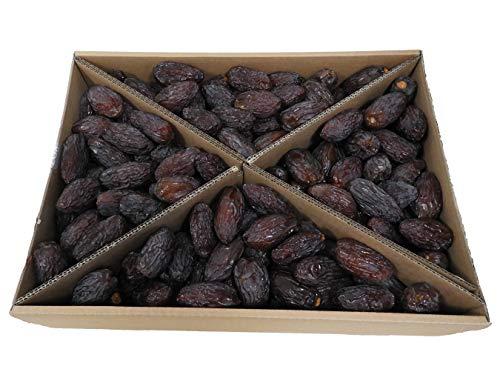 Topfruits Medjool Datteln 5kg, JUMBO, extra dicke Spitzenqualität, naturbelassen, Rohkost