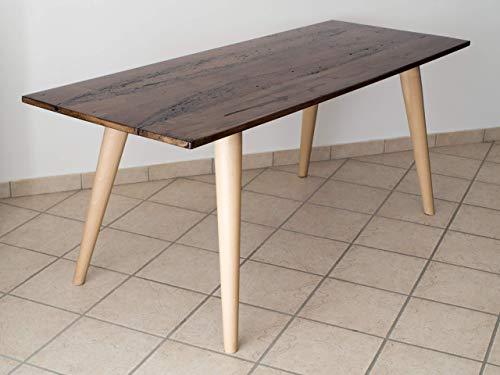 Ebanisteria Gambella - Mesa de madera de Briccola con resina