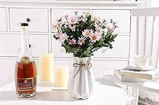 Gumolutin 2 PCS Artificial Silk Daisy Flower Bouquet for Home Table Centerpieces Arrangement Decoration, Pink