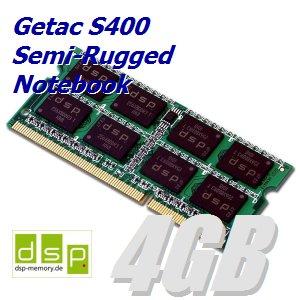 DSP Memory 4GB Speicher/RAM für Getac S400 Semi-Rugged Notebook