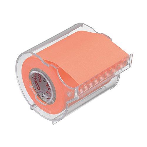 ヤマト 付箋 メモック ロールテープ カッター付き 50mm×10m RK-50CH-OR