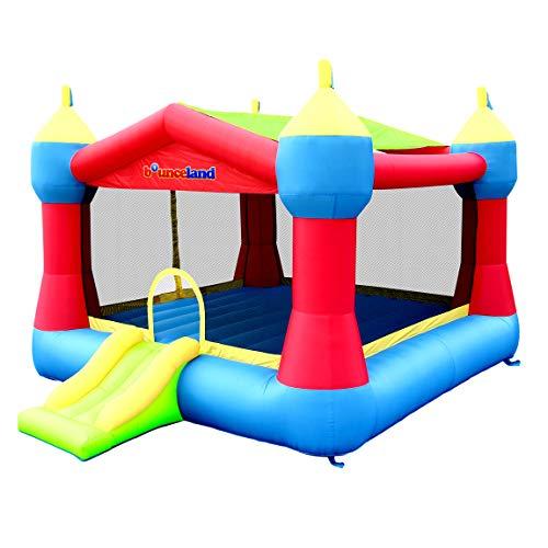 Bounceland Inflatable Party Castle Bounce House Bouncer, 16 ft L x 13 ft W...