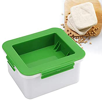 Tofu Press Tofu Press Maker Easily Remove Water Quickly from Tofu for Better Flavor and Texture - Cheese Drainer Water Removing Machine Cheese Presser Dehydrator - Safe for Dishwasher - Green
