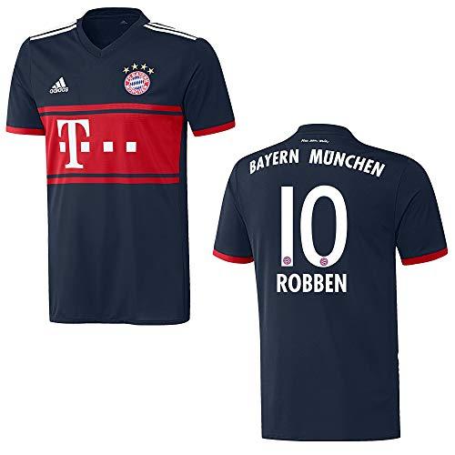 adidas Bayern Trikot Away Herren 2018 - Robben 10, Größe:S