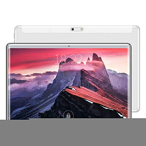 SHISHUFEN Tableta Y1 4G Phone Call Tablet PC, 10.1 Pulgadas, 2GB + 32GB, Pantalla 2.5D, Android 7.0 MTK6753 Octa-Core hasta 1.6GHz, WiFi, Bluetooth, OTG, GPS