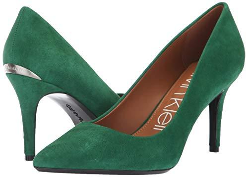 Calvin Klein Women's Gayle Pump, Grass Green, 7 M US