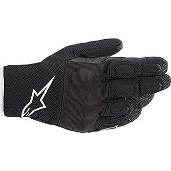 Alpinestars Men s S-Max Drystar Motorcycle Riding Glove Black/White L