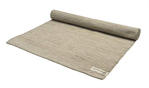 JadeYoga Mysore Yoga-Teppich, Bio-Baumwolle, Grün