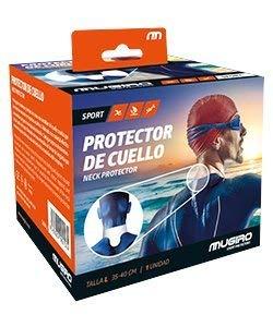 Mugiro Protector de Cuello Trajes de Neopreno - Negro - Talla L (35-40cm)